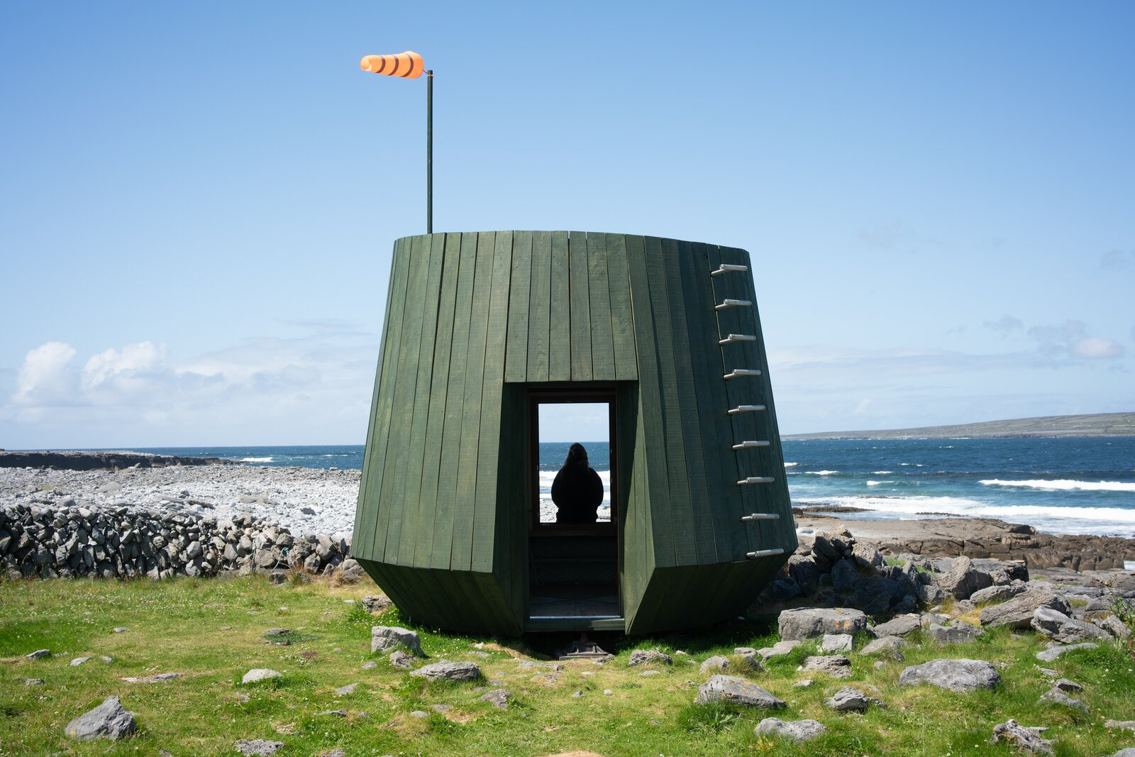 Photo 9 of 12 in An Off-Grid Artist's Retreat Pops Up on an Island Near Ireland