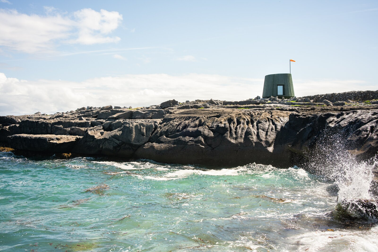 Photo 1 of 12 in An Off-Grid Artist's Retreat Pops Up on an Island Near Ireland