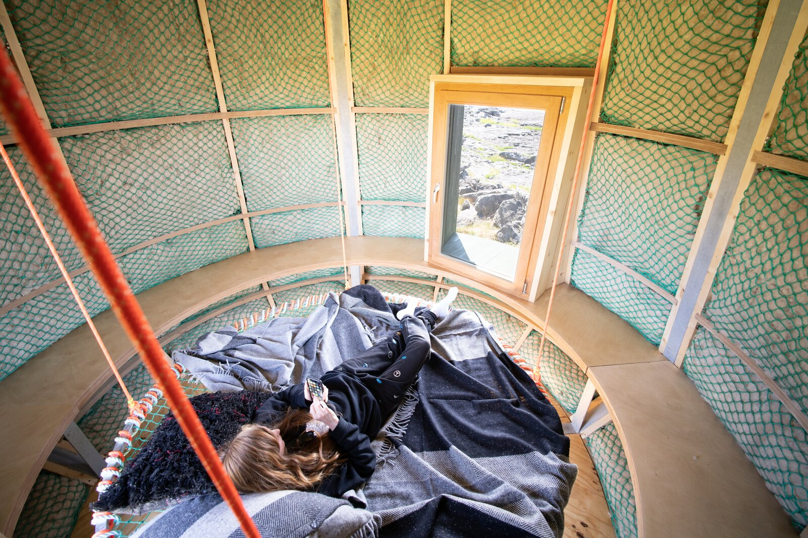 Photo 7 of 12 in An Off-Grid Artist's Retreat Pops Up on an Island Near Ireland