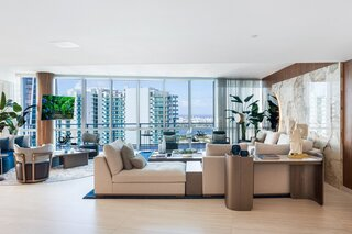 A Sleek Penthouse Overlooking Miami Hits the Market at $5.2M