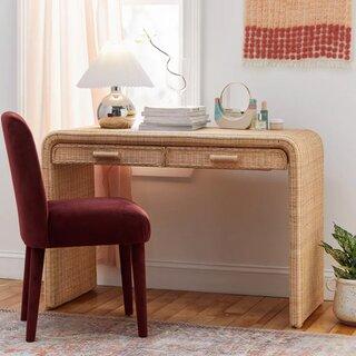 Urban Outfitters Marisol Rattan Desk