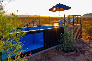 Listed at $798K, This Joshua Tree Hideaway Has Its Own Shipping Container Pool