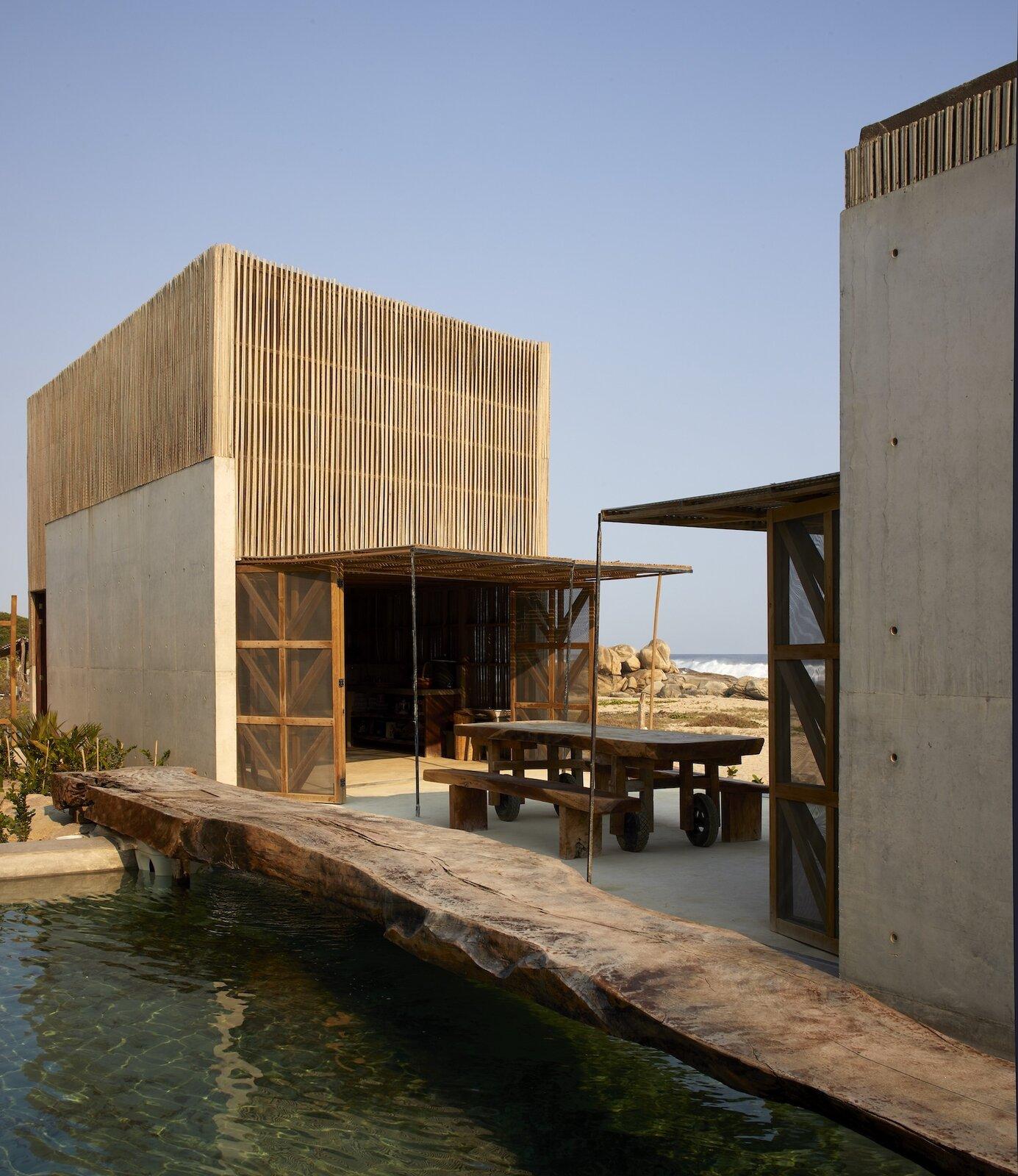Casa Naila oceanfront patio