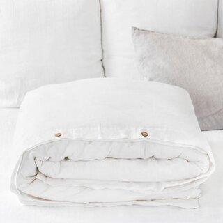 Magic Linen White Duvet Cover