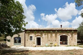 An Old Olive Oil Mill in Sicily Is Recast as a Charming Cottage