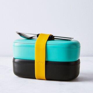 Lékué Lunchbox & Cutlery Set