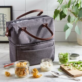 Picnic Time Two-Tiered Insulated Lunch Tote