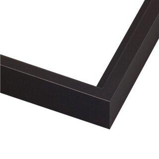 Pictureframes.com Modern Black Canvas Floater Frame