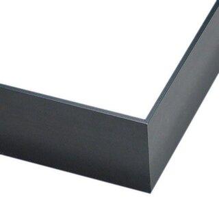 Pictureframes.com Deep Gunmetal Gray Metal Canvas Floater Frame