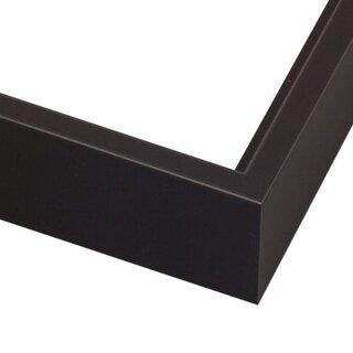 Pictureframes.com Modern Satin Black Canvas Floater Frame