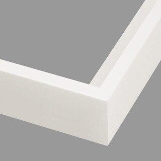 Pictureframes.com Modern White Canvas Floater Frame