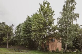 This Spruce Cabin in Switzerland Is Like a Grown-Up Tree House