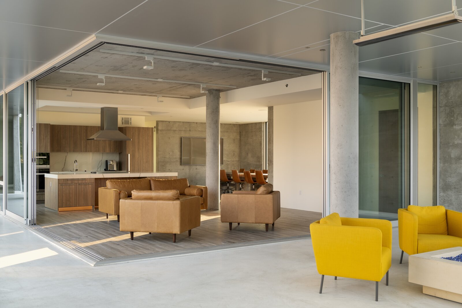 Photo 1 of 7 in A Net-Zero Building in Silicon Valley Gracefully Encompasses Both Work and Play