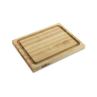Boos Edge-Grain Cutting and Carving Board, Maple
