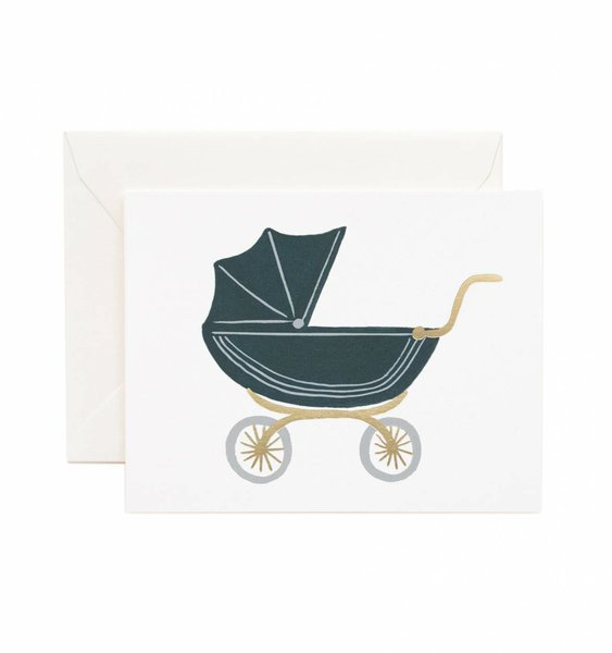 Pram Greeting Card by Rifle Paper Co.