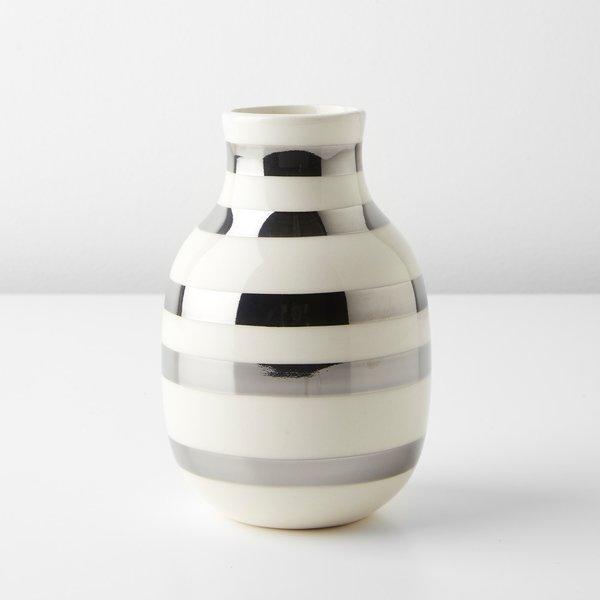 Unison Omaggio Silver Small Vase