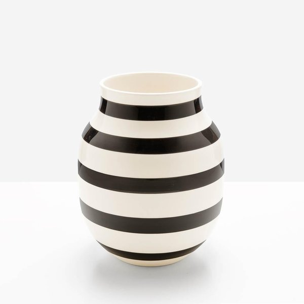 Omaggio Black Medium Vase