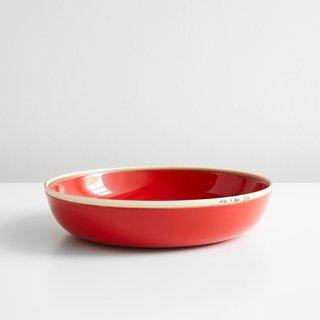 "Meridian Red Bowl 11.5"""
