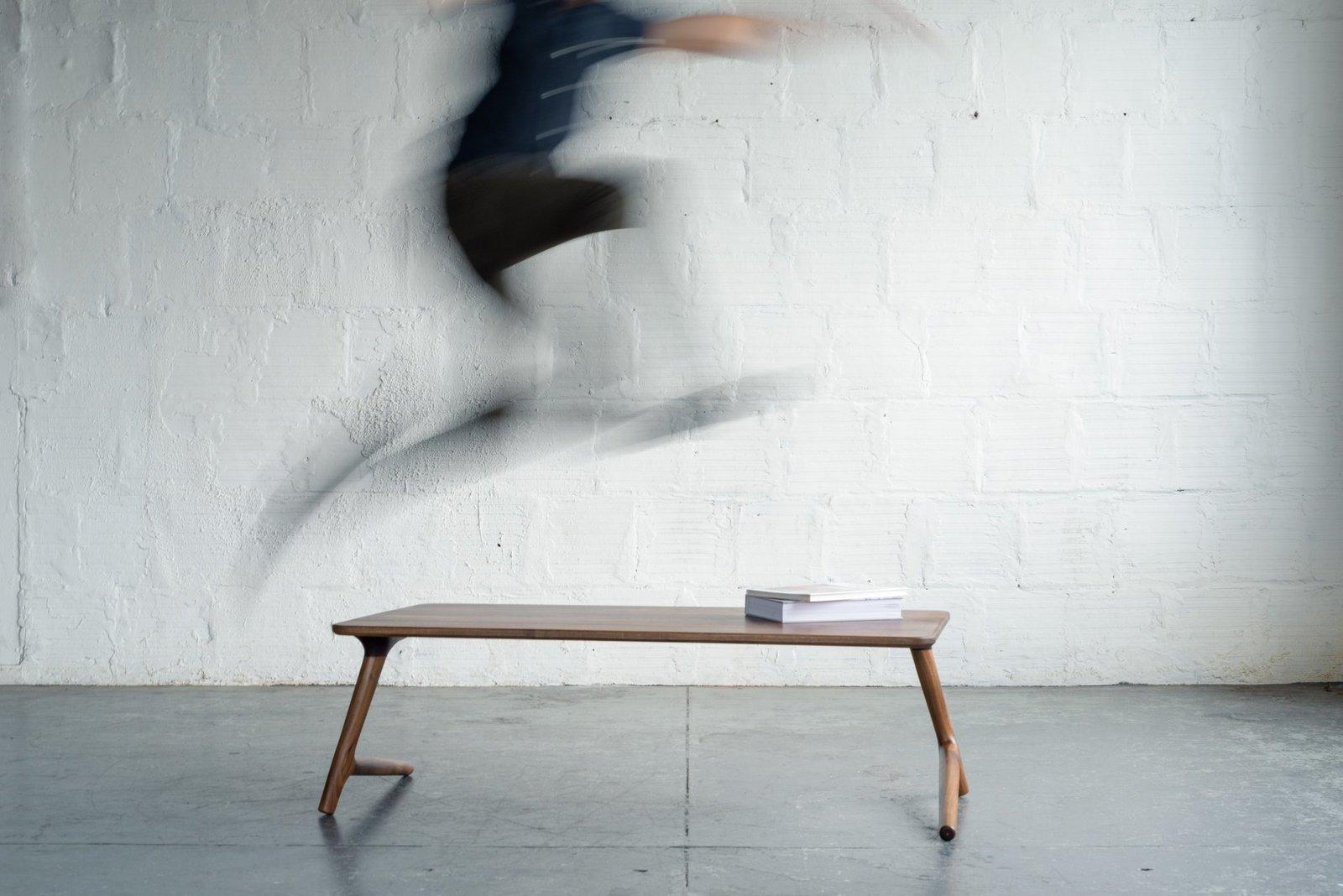 Fernweh Woodworking Walnut Coffee Table