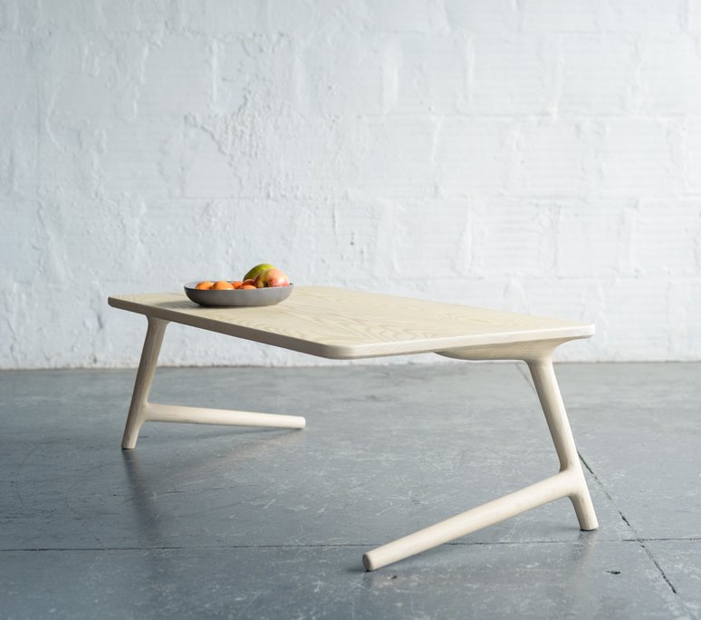 Fernweh Woodworking The Coffee Table - White Ash