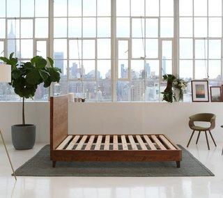 Avocado Mattress Natural Wood Bed Frame