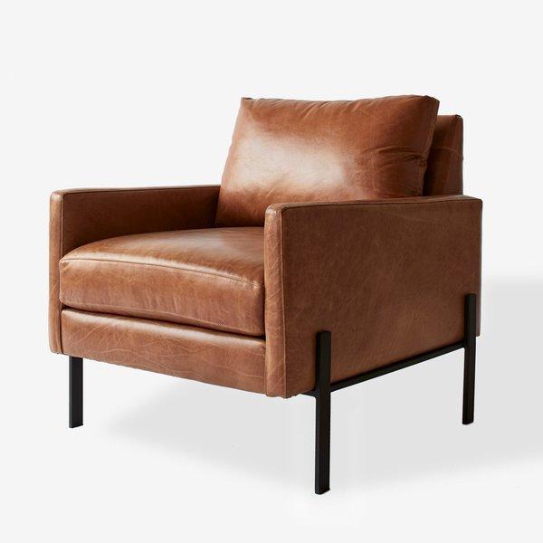 Gunnison Cognac Leather Chair