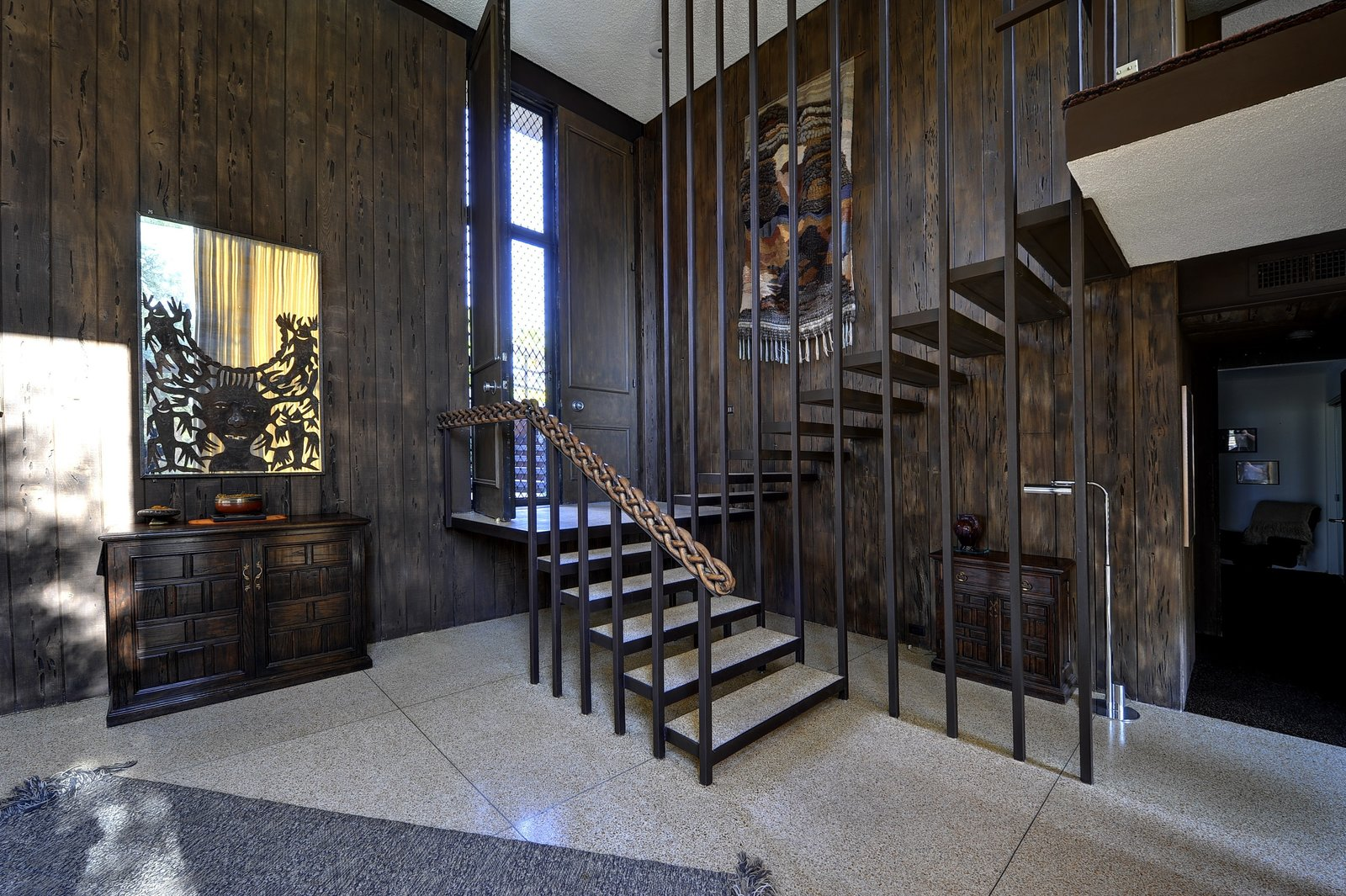 Follow in the footsteps of Steve McQueen as you take the stairs either down to the living space or up to the bedroom.  Photo 3 of 7 in Live Like Steve McQueen for a Cool 2.5 Million Dollars