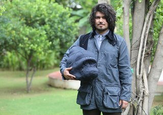 Fashion designer Rohan Chhabra spearheads a project that aims to draw attention to the extinction of endangered species. He has designed a series of hunting-style jackets that fold up into representations of targeted animals, from gorillas to rhinos.