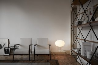 Rodolfo Dordoni designed the Buds table lamp, which is being released this year by Foscarini.