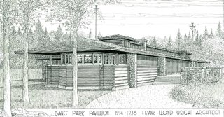 The structure may be reconstructed following a proposal led by the Frank Lloyd Wright Revival Initiative.