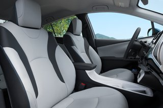 A redesigned interior has created more spacious seating, while a reshaped center console adds even more open space. Deep side bolsters and an available eight-way power-adjustable driver's seat with power lumbar support allows you to get comfortable, no matter how long the road trip may be.