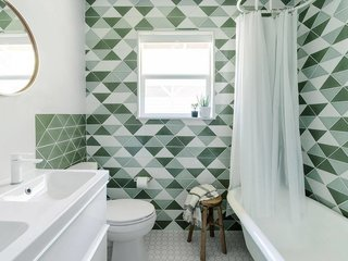 Photo of the Week: A Photographer's Tri-Colored Tile Scheme