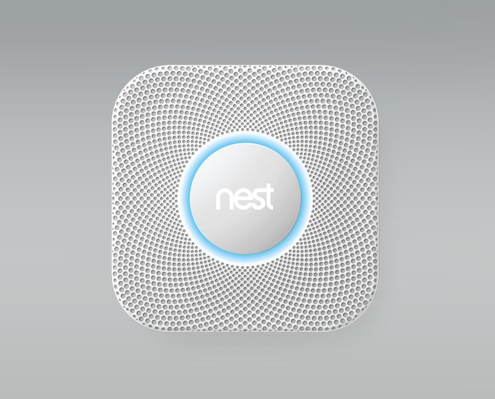 The final product they ordered through SAGE is the Nest Protect: Smoke + CO Alarm, which will notify them if there's a change in smoke, carbon dioxide, or carbon monoxide levels. Not only will the device send an alert to your phone, but it will also vocally explain exactly where the danger is located.  Photo 6 of 6 in See How Technology Turned This Vacation Home Into a Connected Family Hub