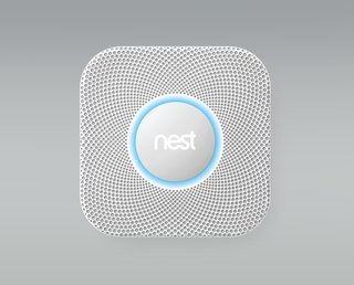 The final product they ordered through SAGE is the Nest Protect: Smoke + CO Alarm, which will notify them if there's a change in smoke, carbon dioxide, or carbon monoxide levels. Not only will the device send an alert to your phone, but it will also vocally explain exactly where the danger is located.