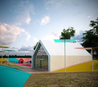 A Charming Playground That's Surprisingly Modern - Photo 1 of 1 -