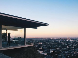 An Iconic Case Study House That's Perched High Above LA's Sunset Strip