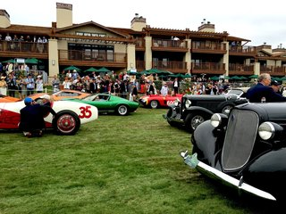 A Day at the Pebble Beach Concours d'Elegance Car Show