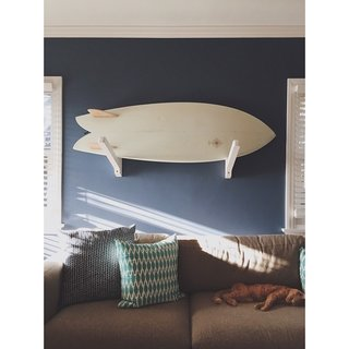 Working Your Way to a Blended Home - Photo 11 of 11 - @mtitone brings his love of surfing into his Venice Beach home.