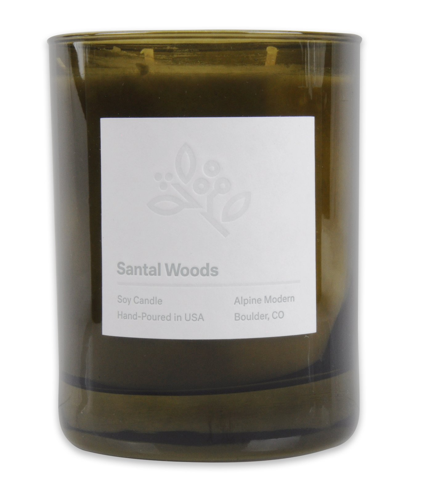 Santal Woods Candle for $30 from Alpine Modern  Photo 5 of 12 in An Expert's Guide to a Bavarian-Coloradan Holiday