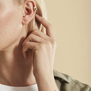 Gold Ear Conch Cuff by Loren Stewart from Goop for $285
