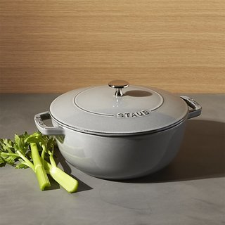 Staub 3.75-Qt. Essential French Oven in Graphite Gray, $149.99
