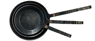 Turk One-Piece Forged Iron Fry Pan, $149
