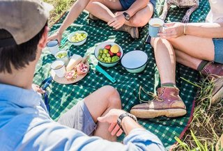 For spontaneous picnics in style. Meadow Mat Large Waterproof Blanket from Alite, $24.99.