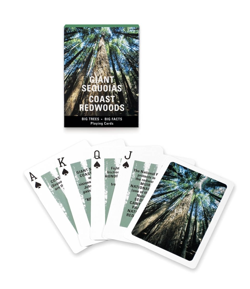 Giant Redwoods Playing Cards from the Golden Gate National Parks Conservancy, $5.95  Photo 4 of 7 in The 5 Outdoorsy Gifts That Every Modern Camper Needs