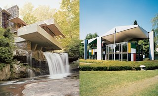 Discuss: Who Would Win in a Fight—Frank Lloyd Wright vs. Le Corbusier?