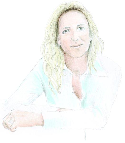 Illustration of Patricia Urquiola