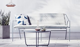 Modern by Dwell Magazine Outdoor Sofa and Cushion