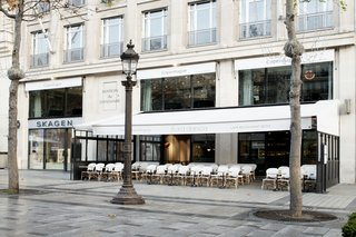Maison du Danemark sits in Paris' eighth arrondissement and acts as a host to cultural events, gatherings, and exhibitions—and has most recently seen the addition of two new restaurants designed by GamFratesi and furnished by GUBI.