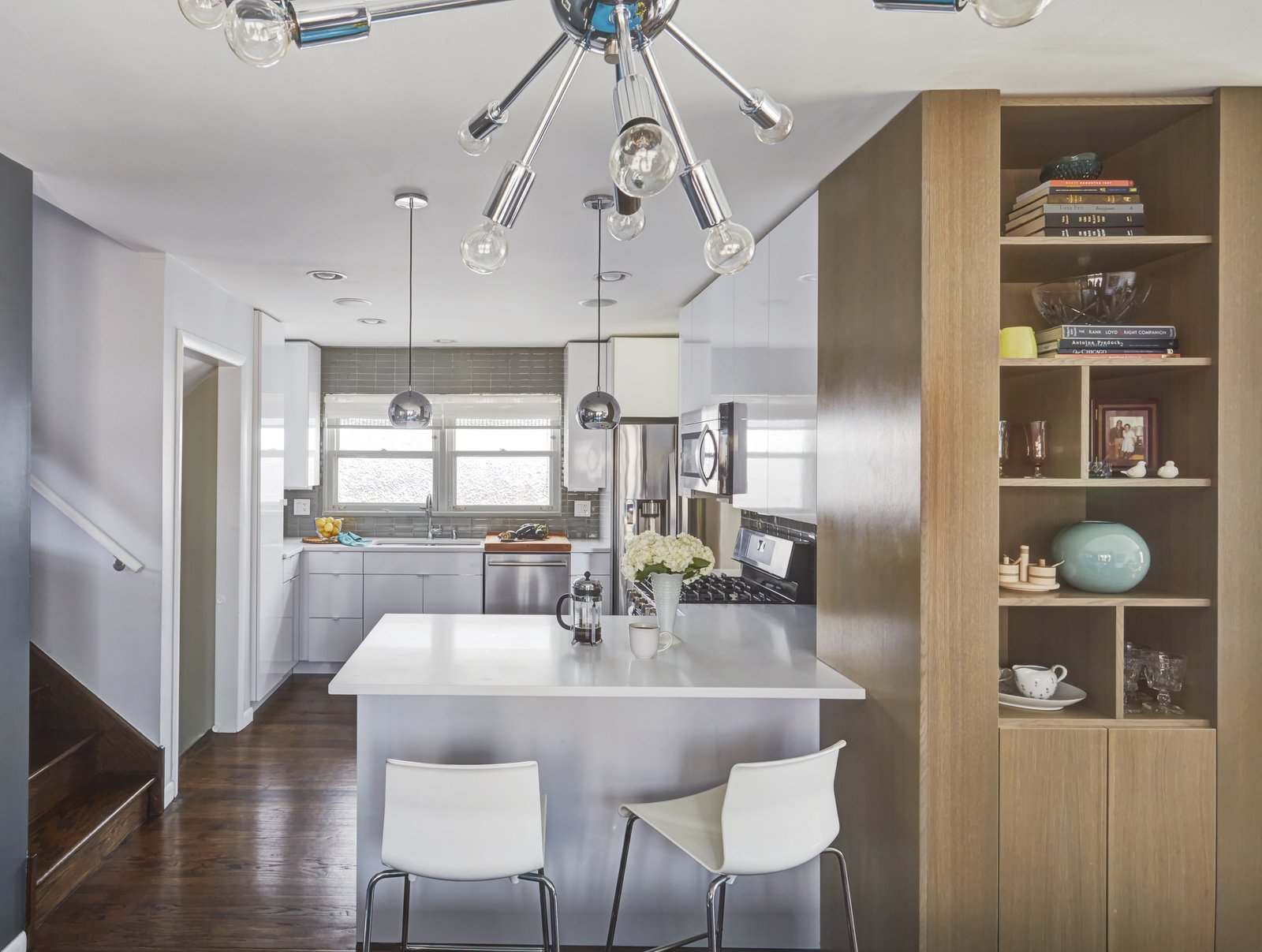 Clever Storage Solutions and a Shifted Layout Revive This 1950s Chicago Home
