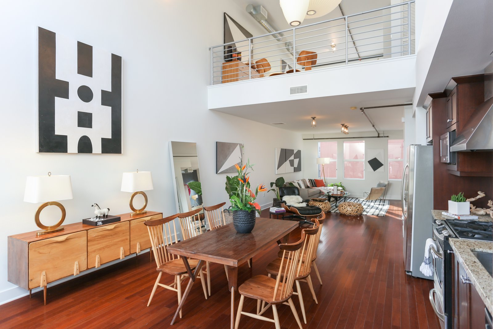 A Designer Lists Her Three Story Live Work Loft In Orange
